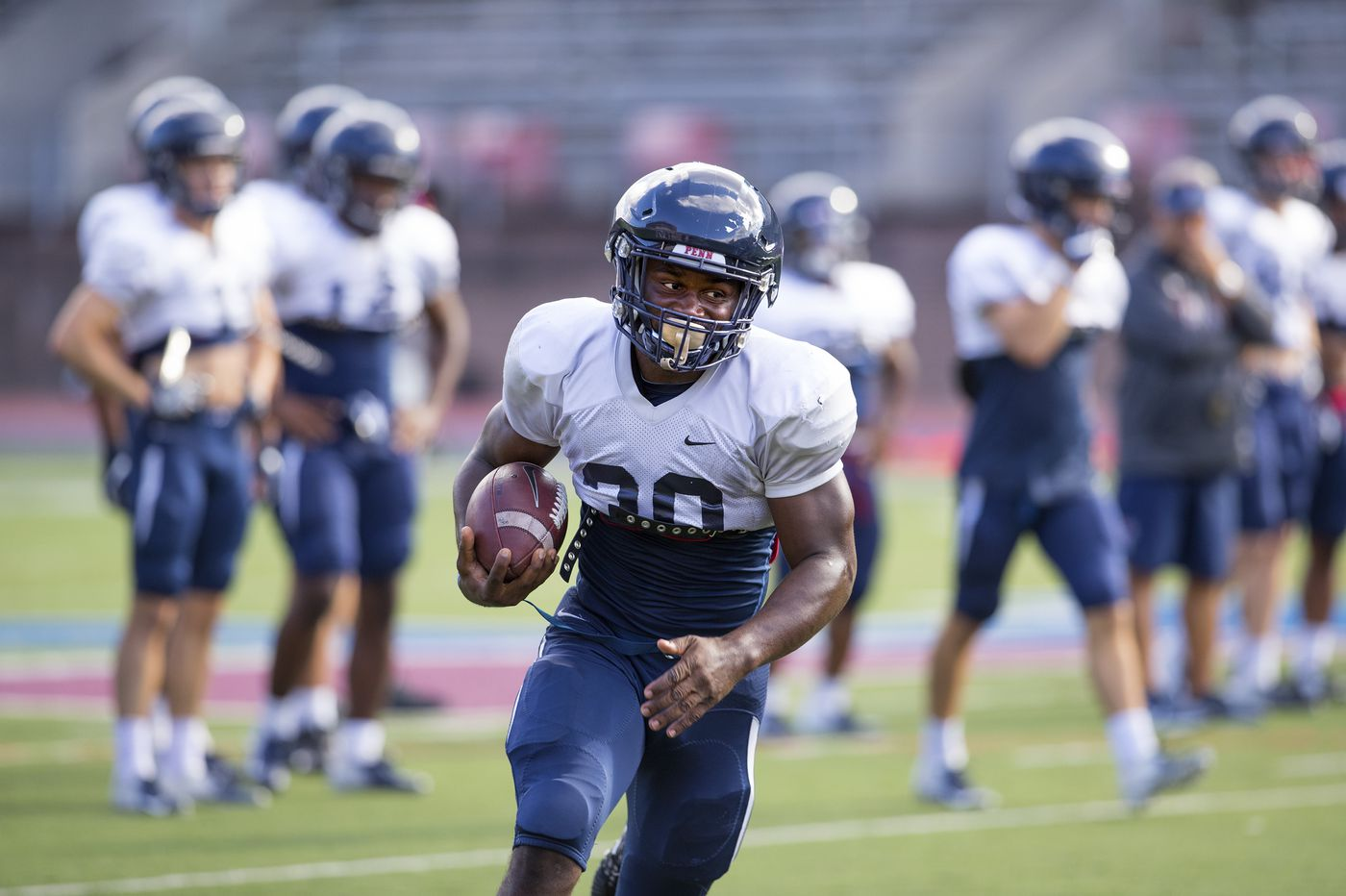 Penn's offense comes alive in 28-24 win over Lafayette