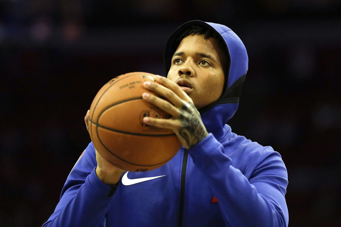Sixers' Markelle Fultz says Pacers guard and fellow DeMatha grad Victor Oladipo is 'a big brother to me'