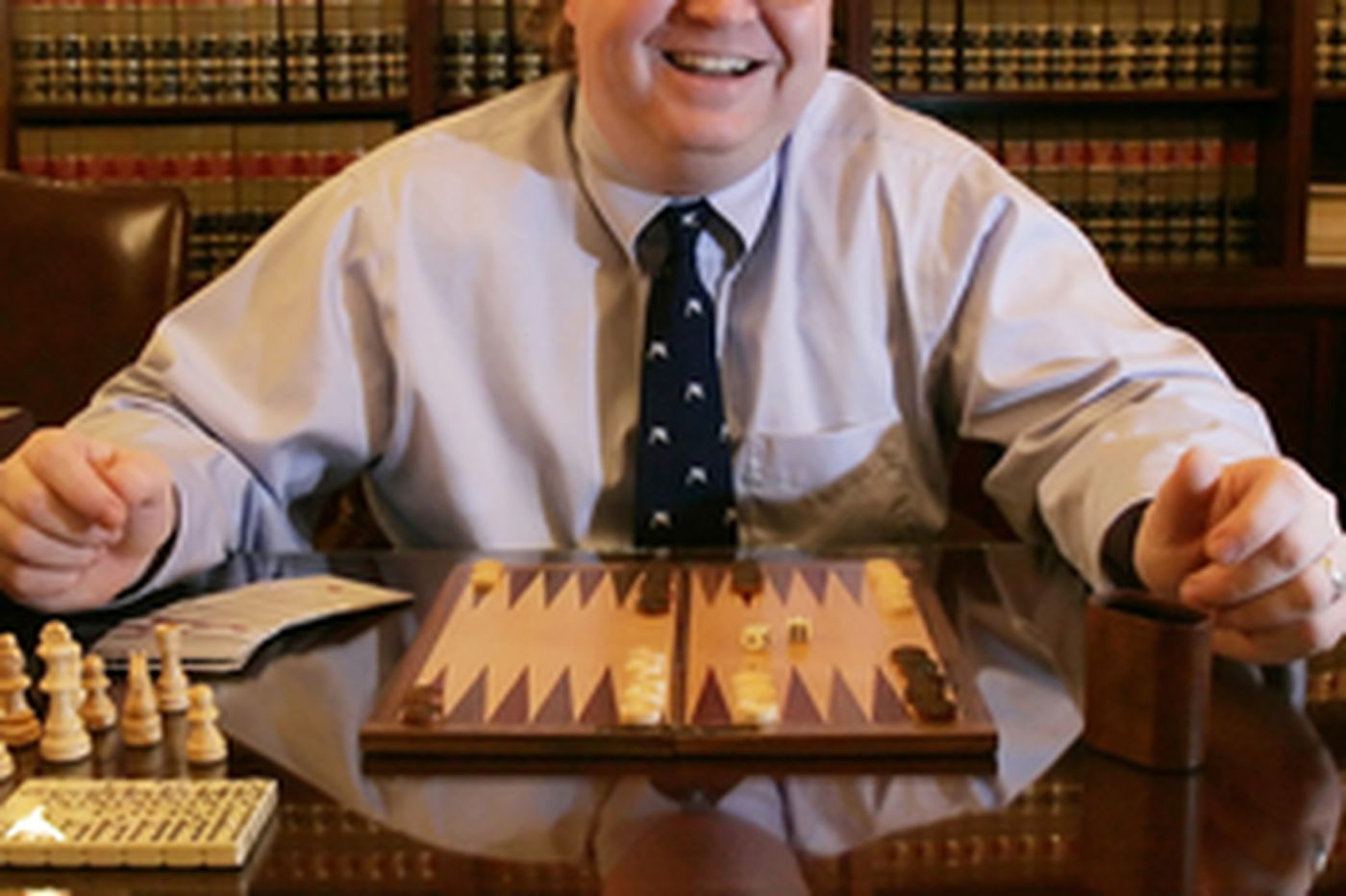 Pa. state policy staffer is board-game expert, too