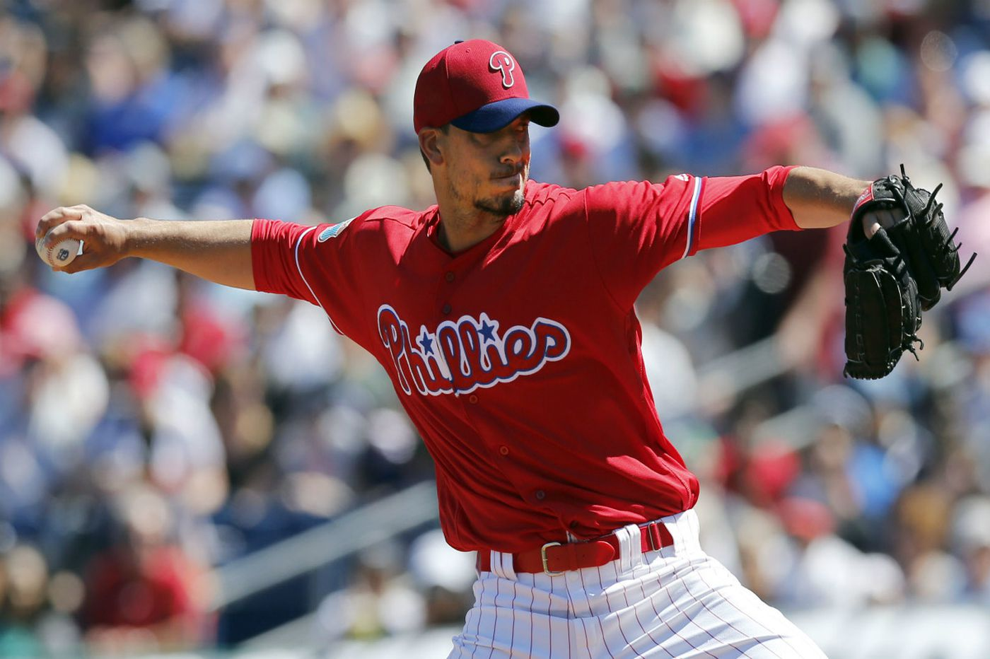 phillies hold off yankees in charlie morton s debut philadelphia inquirer
