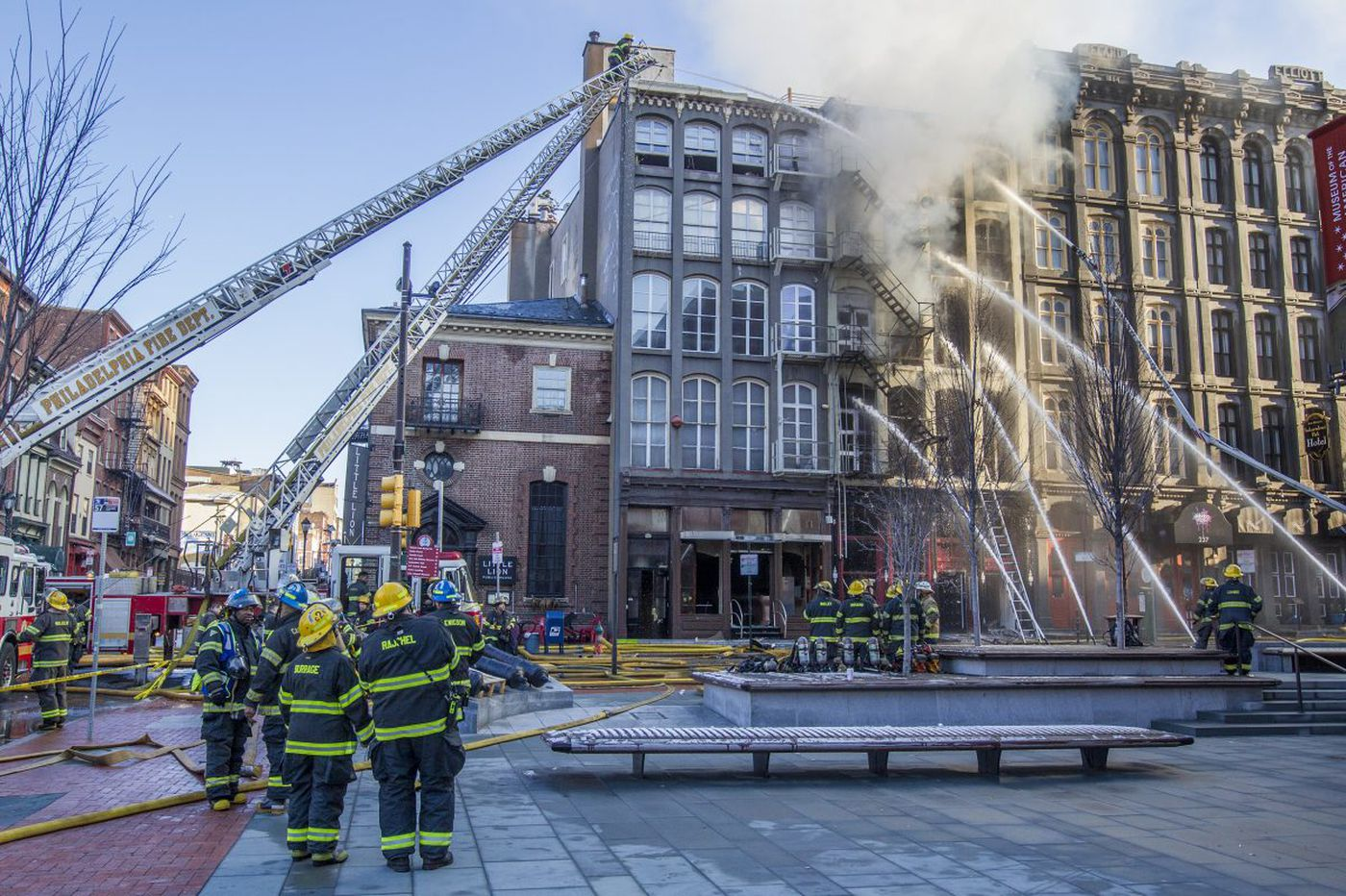 Why do Old City buildings keep burning?