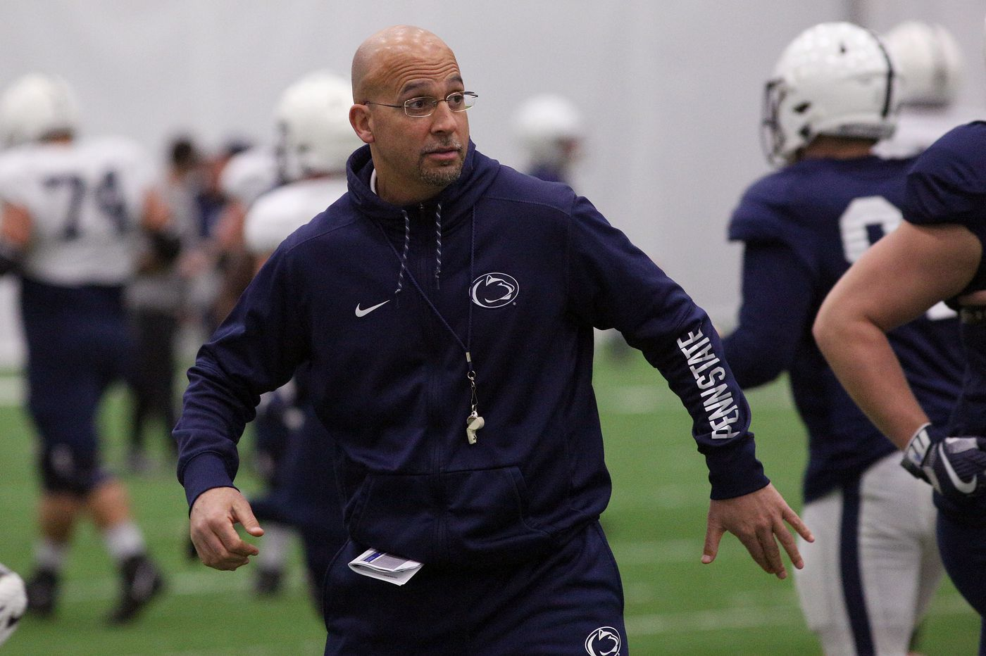 Penn State hires former Purdue All-America Taylor Stubblefield as wide receivers coach