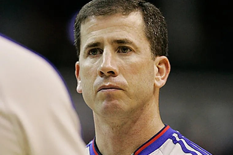 Tim Donaghy during his days as an NBA referee.