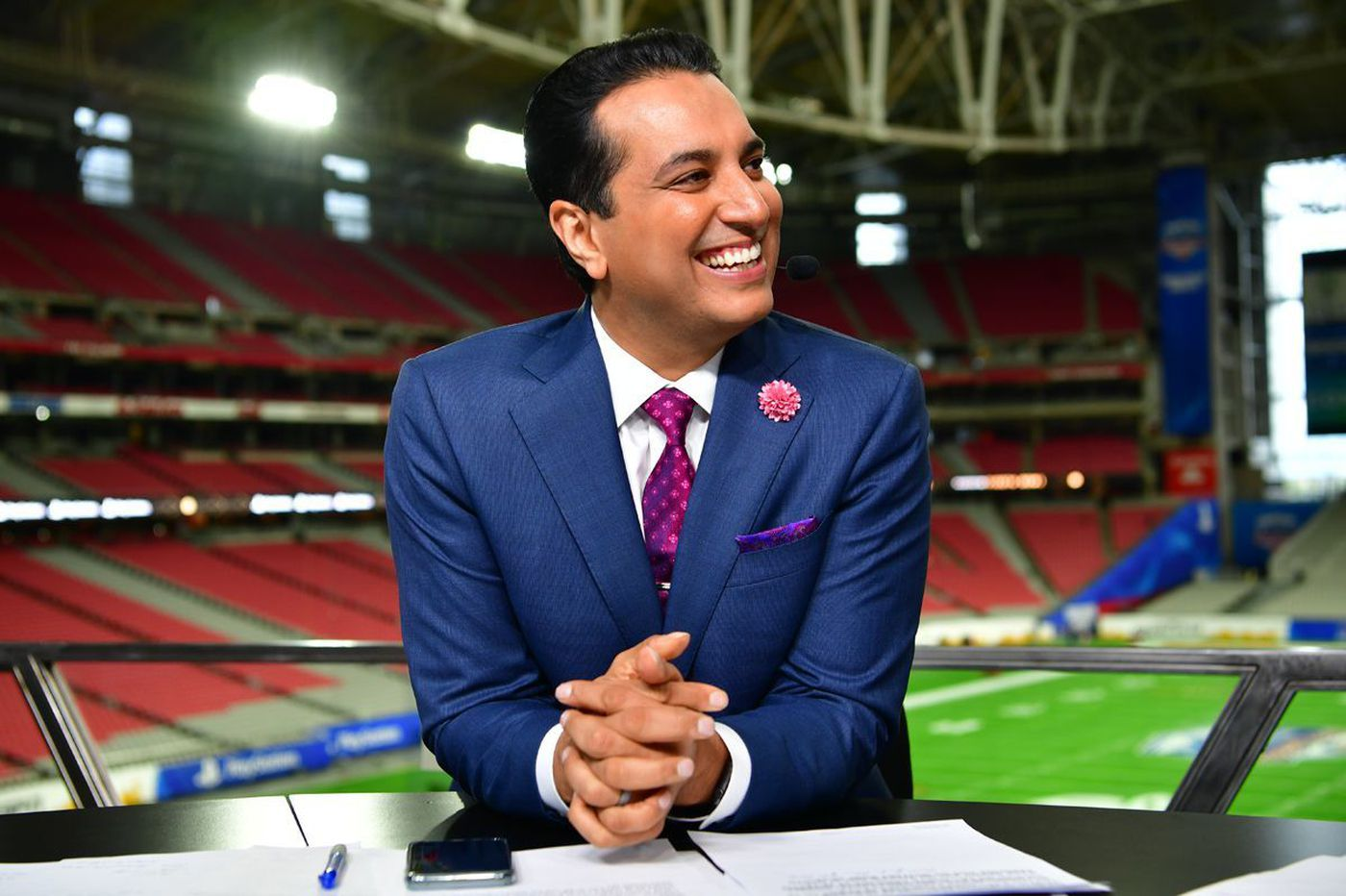 Philly guy Kevin Negandhi won't be leaving ESPN anytime soon