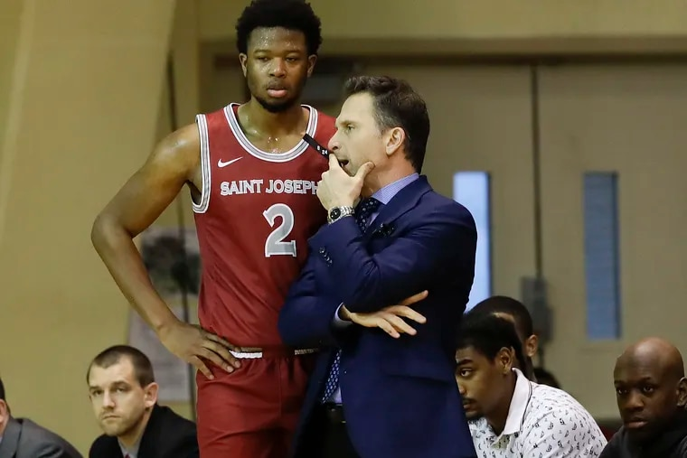 St. Joe's first game back will be against Drexel on Dec. 17.