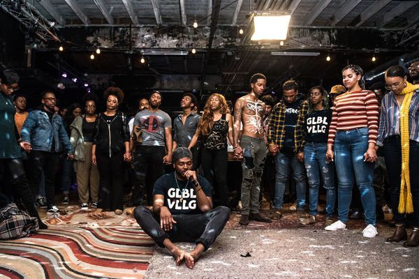 In Philly's jam-session scene, GLBL VLLG puts its hundreds-strong audience on center stage