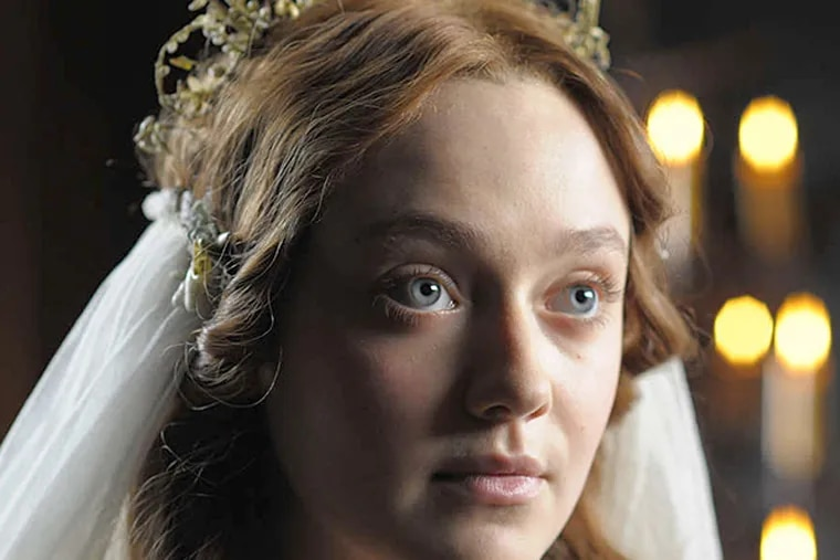 """Dakota Fanning is a neglected wife in """"Effie Gray."""" (DAVID LEVINTHAL)"""