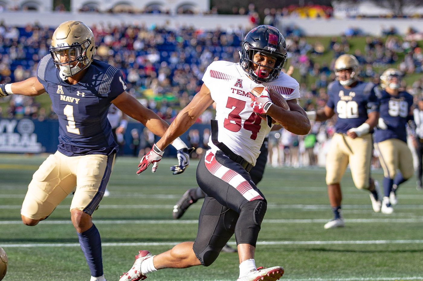 Playground legend Tyliek Raynor looking to build off his first career TD for Temple