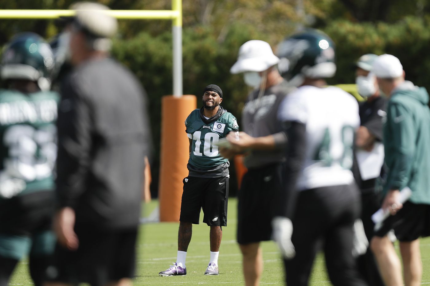 Injury report leaves Eagles thin at wide receiver, cornerback; 49ers QB Jimmy Garoppolo out