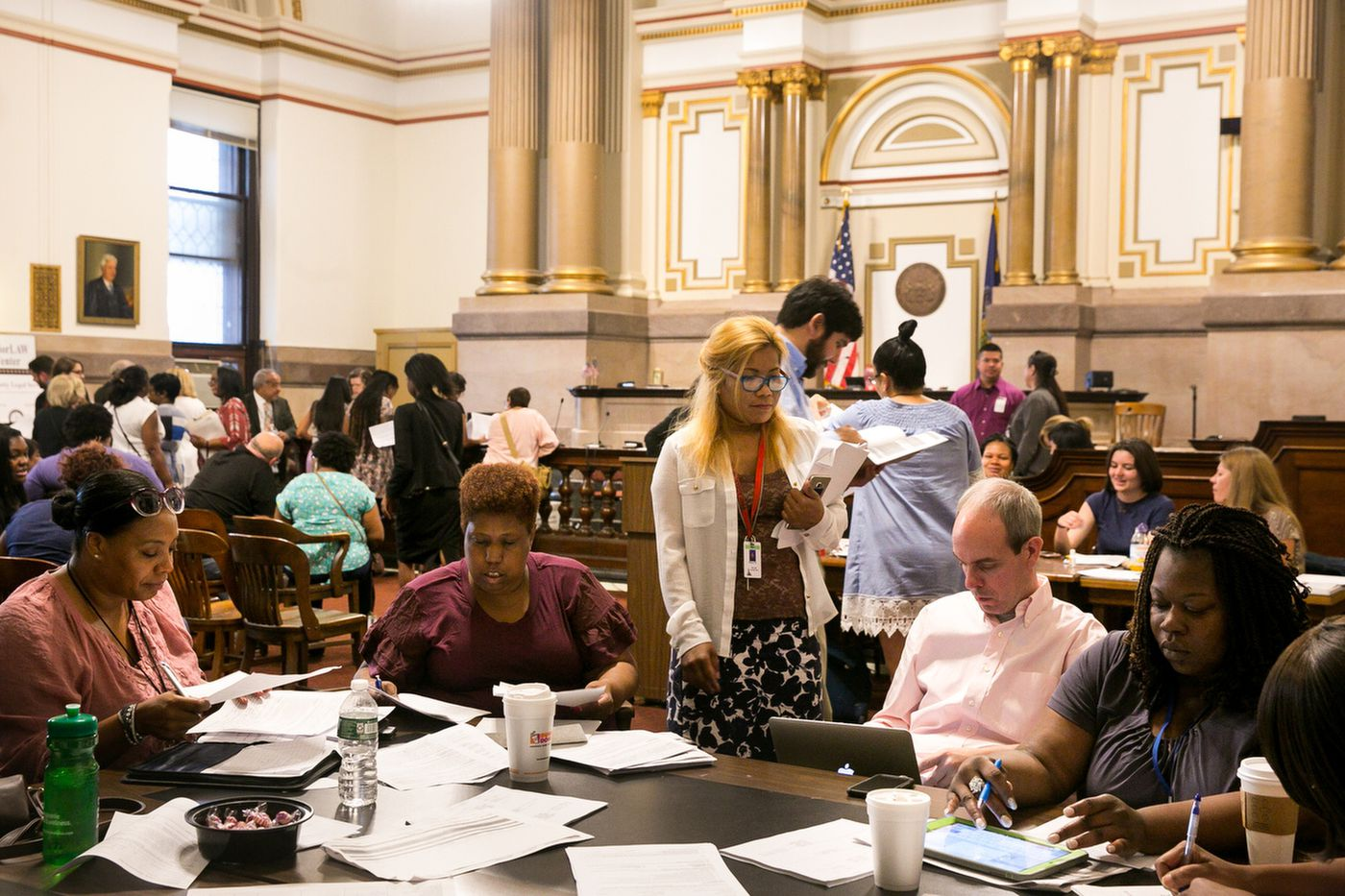 In one chaotic courtroom, free counselors and attorneys have saved 11,000 Philly homes from foreclosure