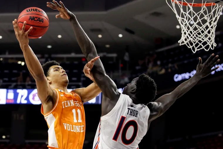 Sixers rookie Jaden Springer, a one-year starter at Tennessee, had 11 points and two blocks in his NBA Summer League debut.