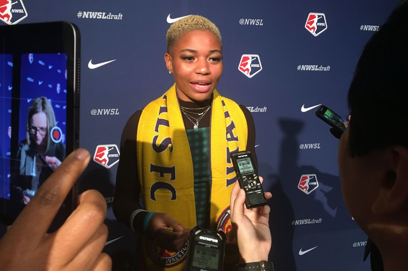 Sicklerville's Tziarra King a first-round NWSL draft pick by Utah Royals