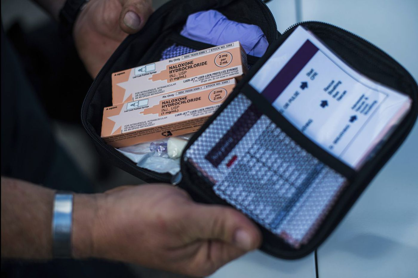 On a Center City street, I watched a heroin user revived with Narcan