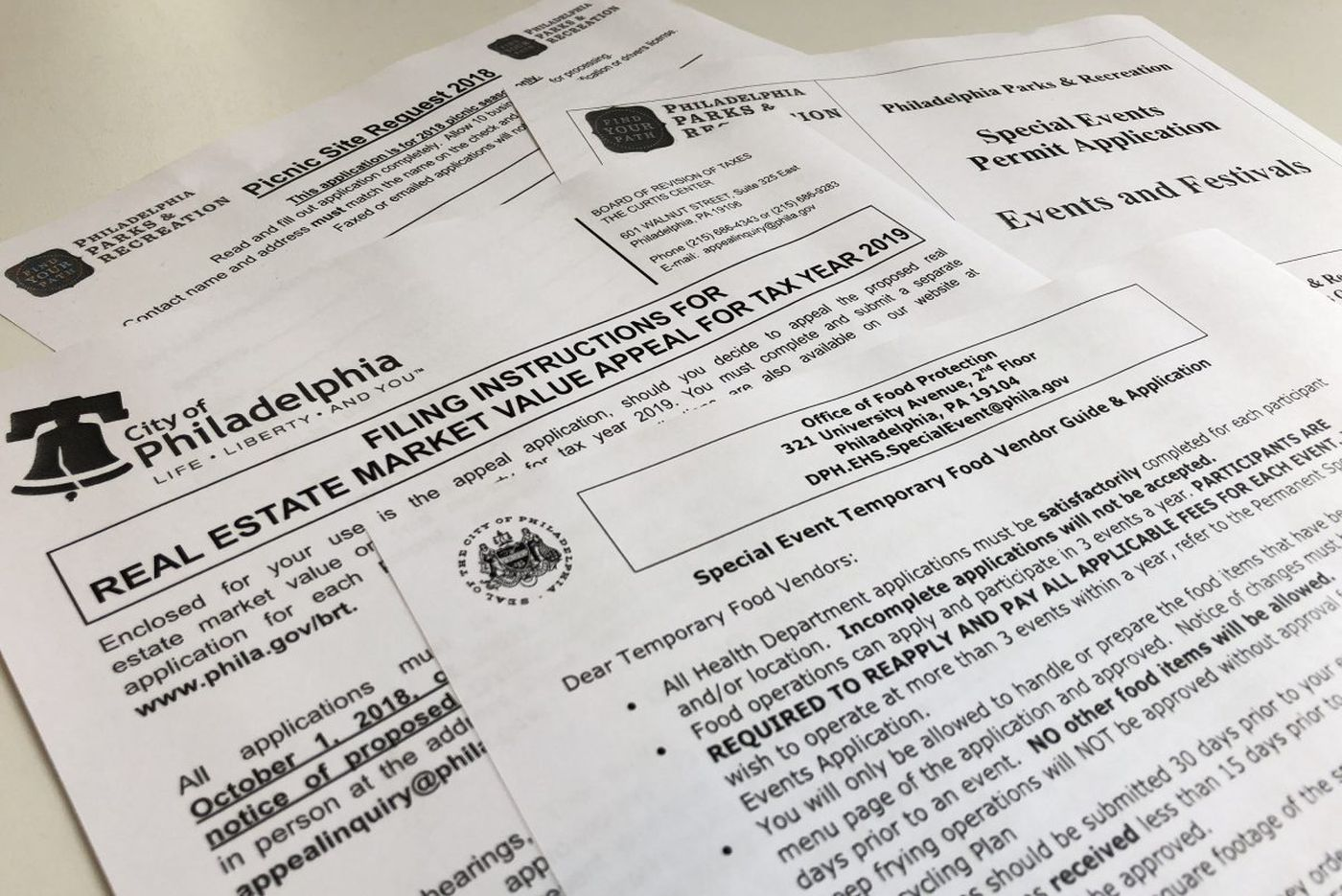 10 billion hours of paperwork!? Philadelphia, other cities aim to simplify those forms