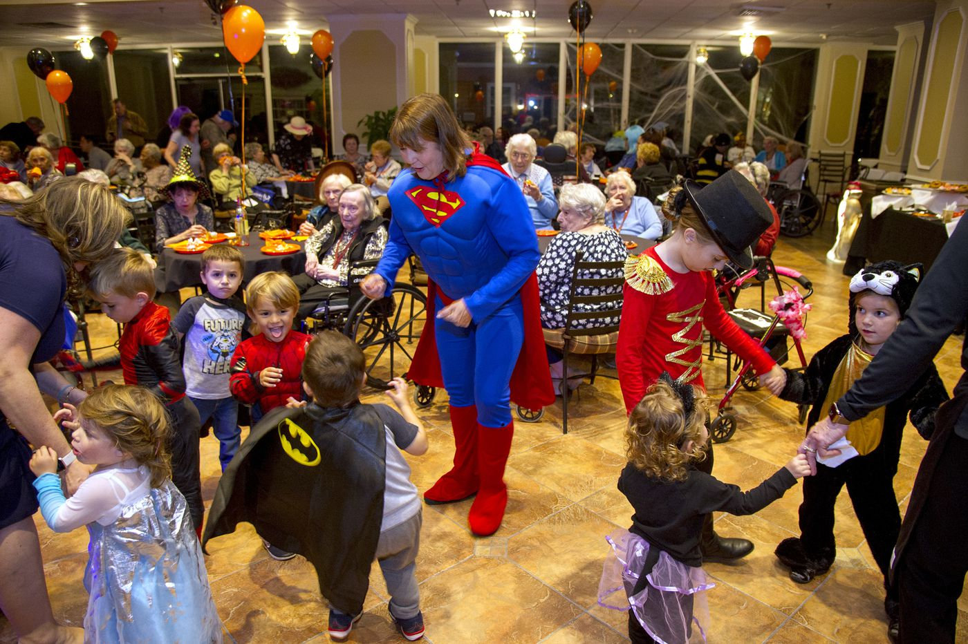 Halloween celebrated at Cherry Hill assisted living home
