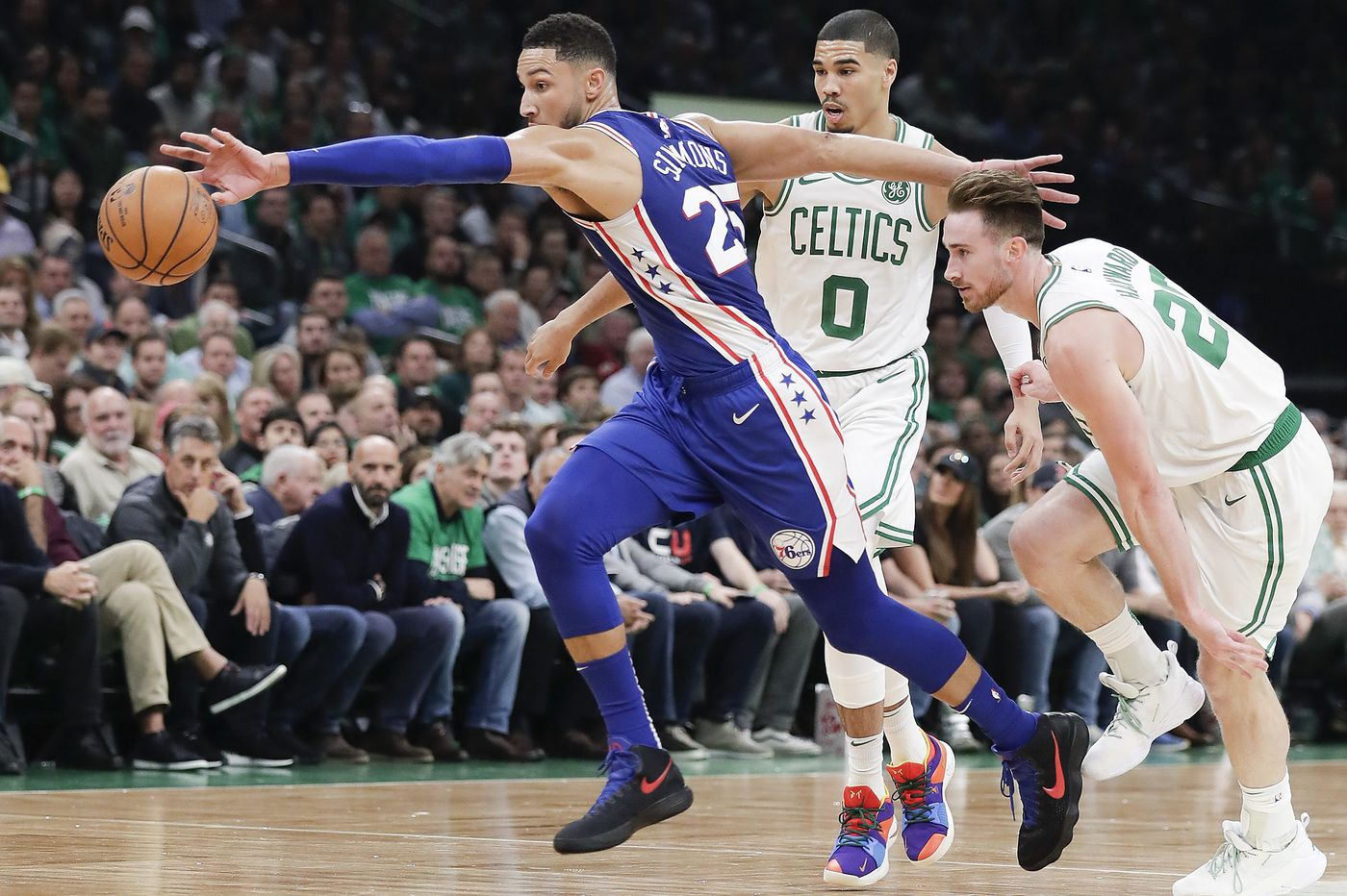 Sixers lose to Celtics in NBA season opener despite solid outing by Ben Simmons