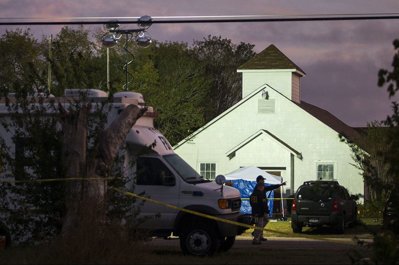 Eight people - across 3 generations - of a single family killed at Texas church