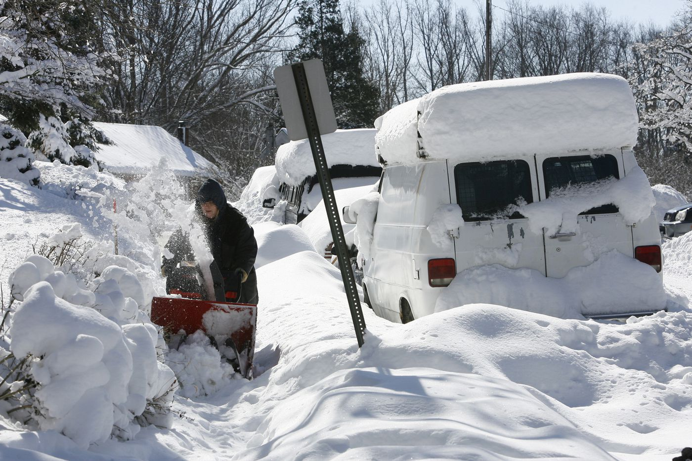 Ten years ago this week, Philly got 44 inches of snow in 5 days. Why this winter is so different.