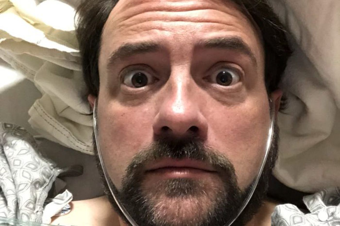 Kevin Smith reaches weight loss goal following massive heart attack