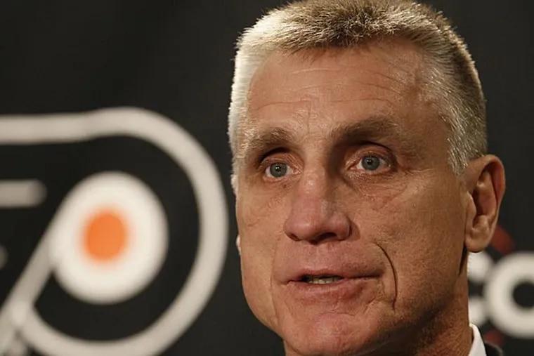Flyers general manager Paul Holmgren. (Matt Slocum/AP file photo)