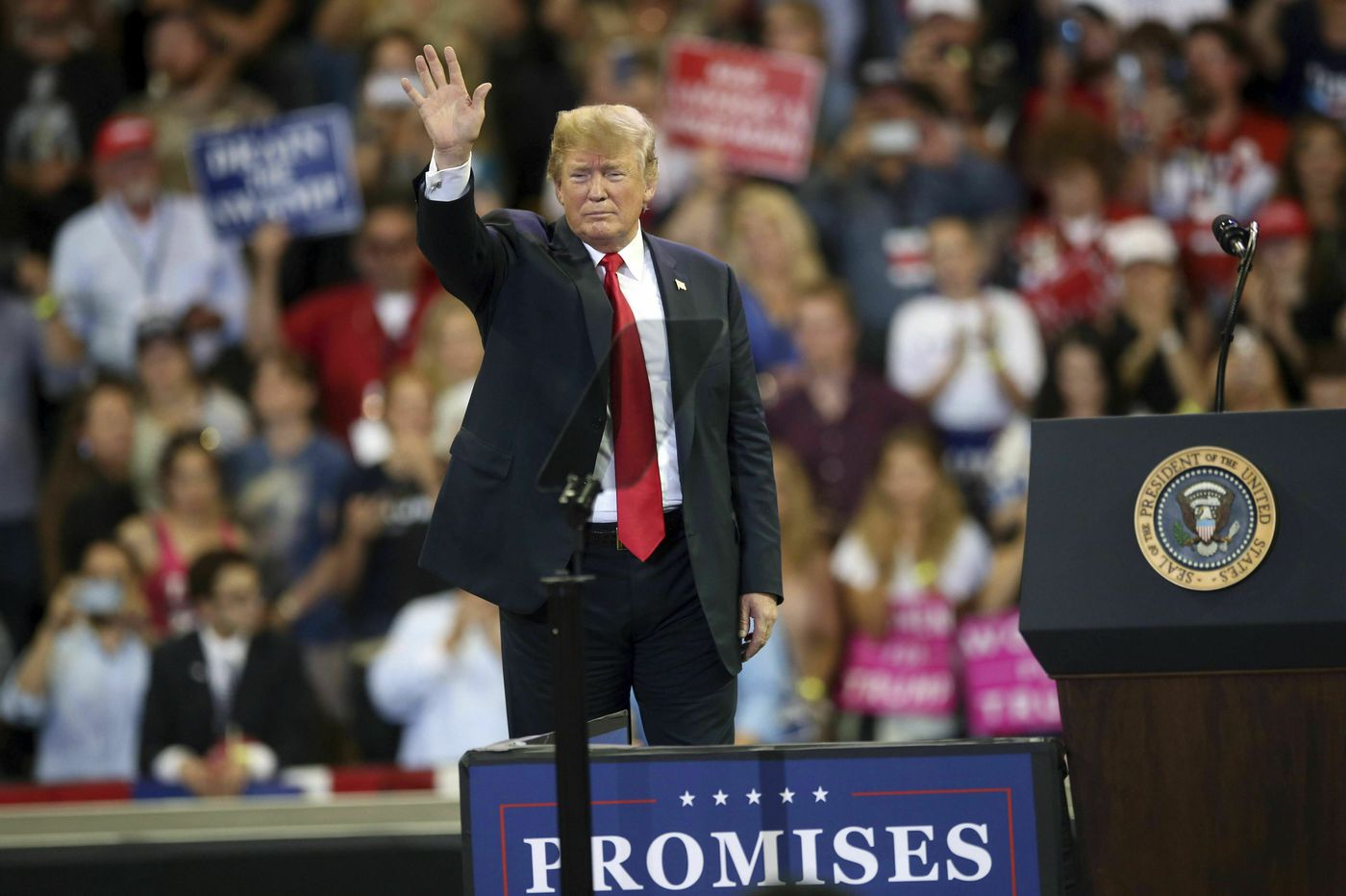 President Trump focuses on divisive messages as 2020 reelection bid takes shape