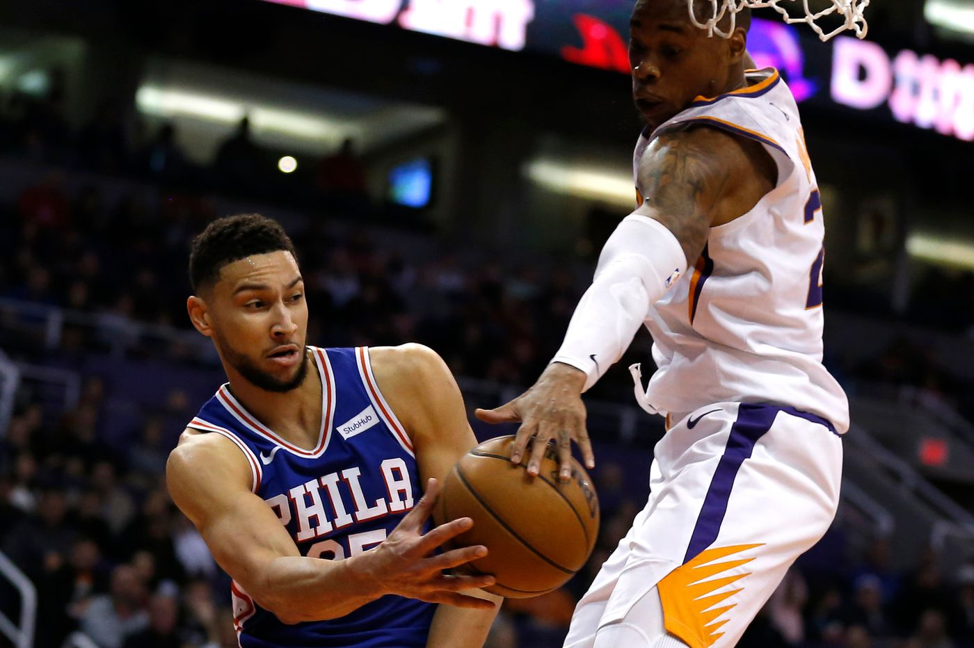 Sixers-Suns observations: Joel Embiid's worth, Ben Simmons' low-post dominance, another win over a losing team