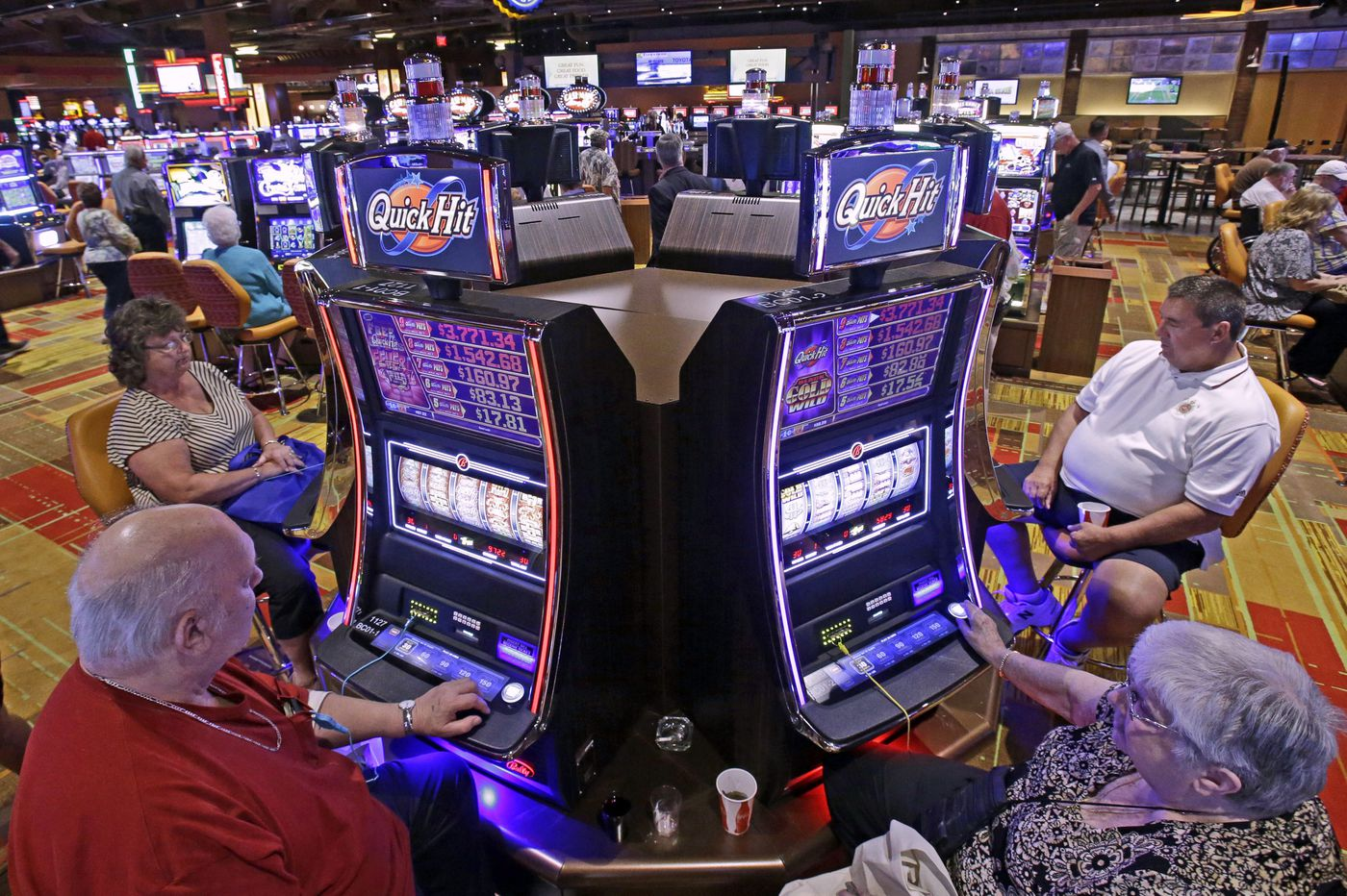 Betting with a smartphone? The casinos know who you are, and where you are located.