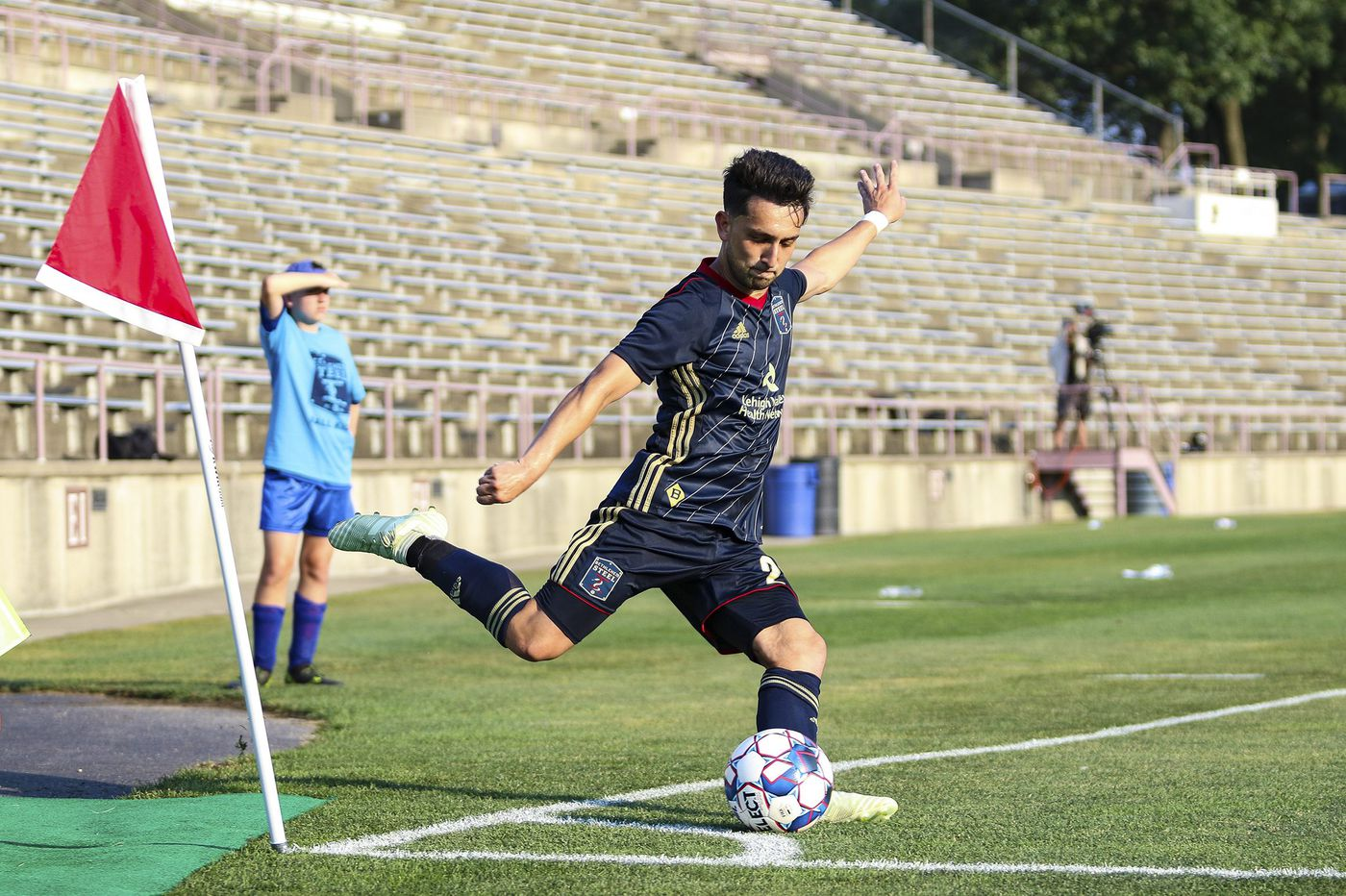 Union's Adam Najem plays for Afghanistan soccer team in nation's first home game in five years