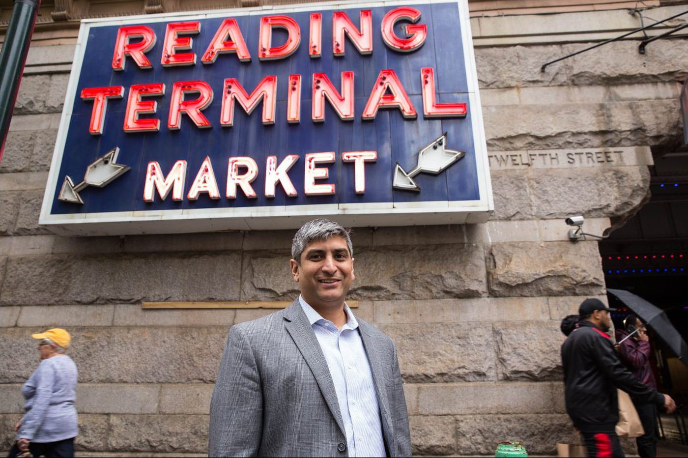 Reading Terminal manager Anuj Gupta taking the market into the future