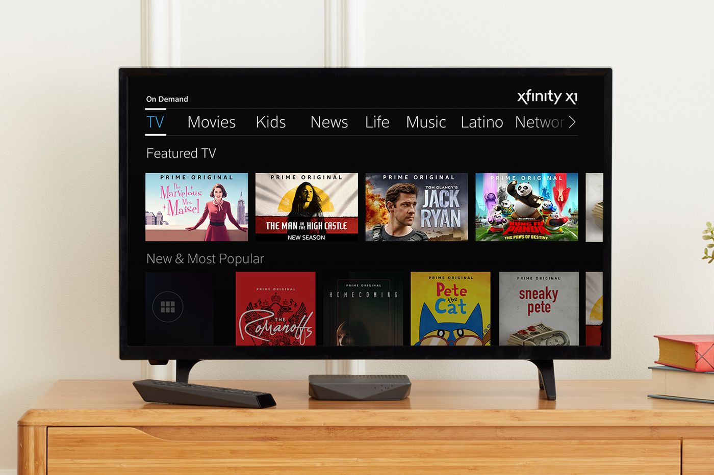 cheaper 61cd2 edb00 Xfinity adds Amazon Prime Video to X1