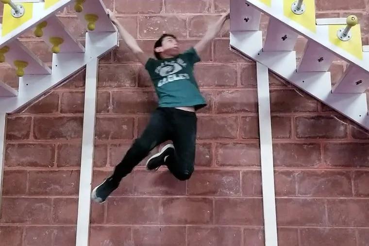 Willie Waerig, 10, will compete in NBC latest spin-off American Ninja Warrior Jr.