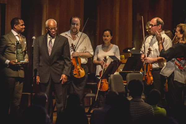 Philly astronaut Bluford gets his props at the Mann - and a soaring orchestral number in his honor