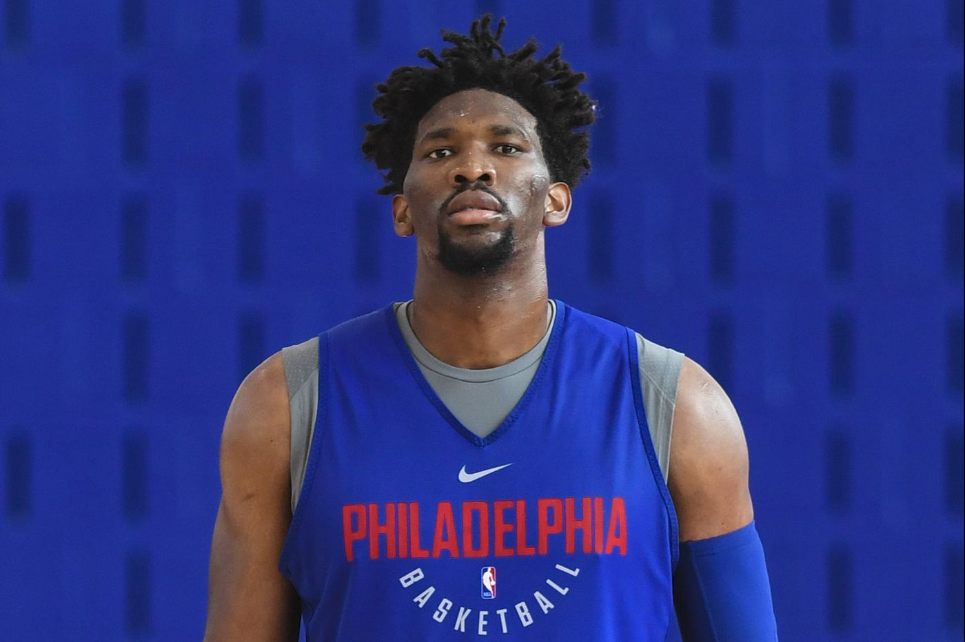 Sixers hold Joel Embiid out of practice