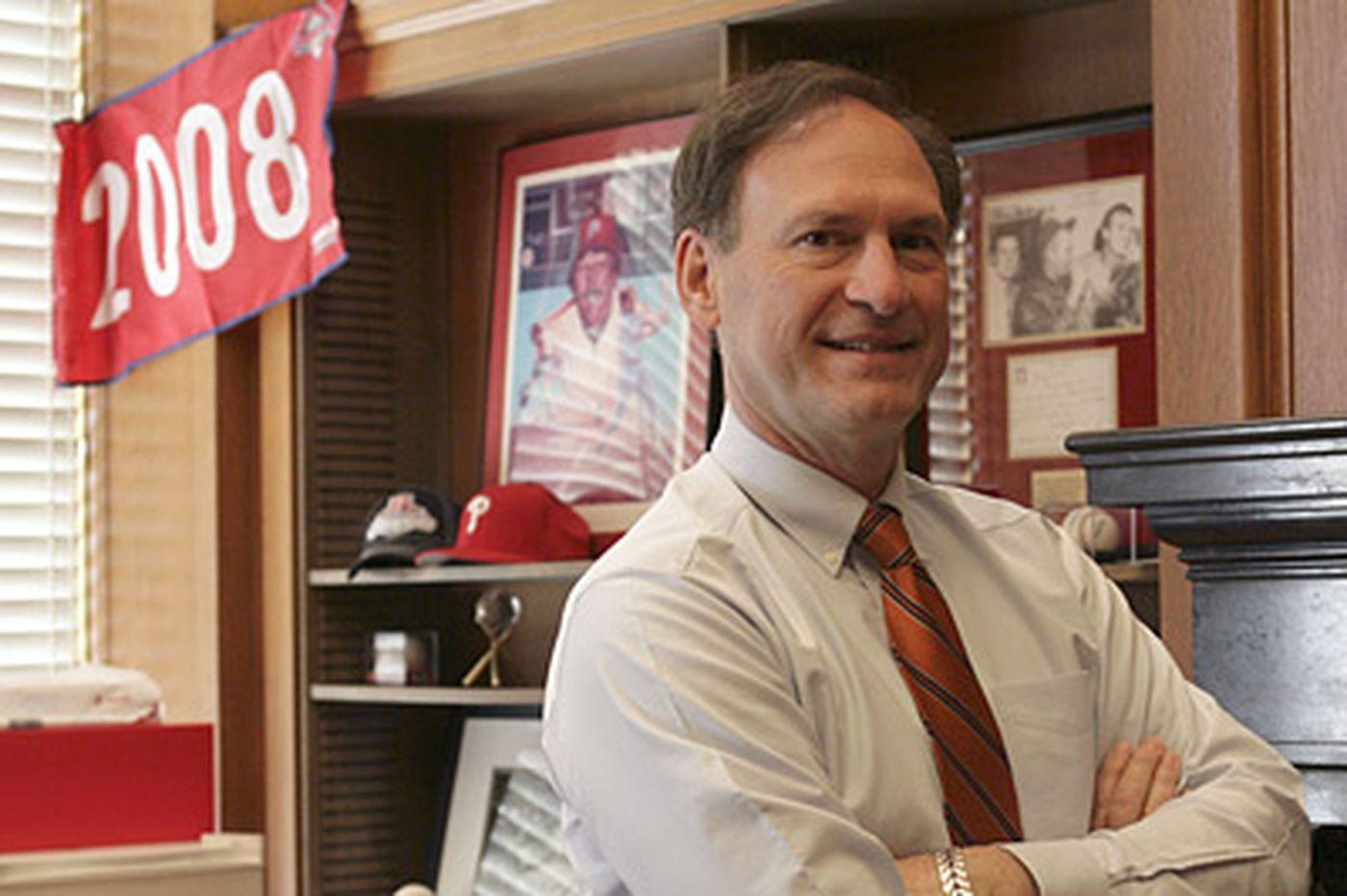 Q&A with Justice Samuel Alito, a Supreme Phillies fan