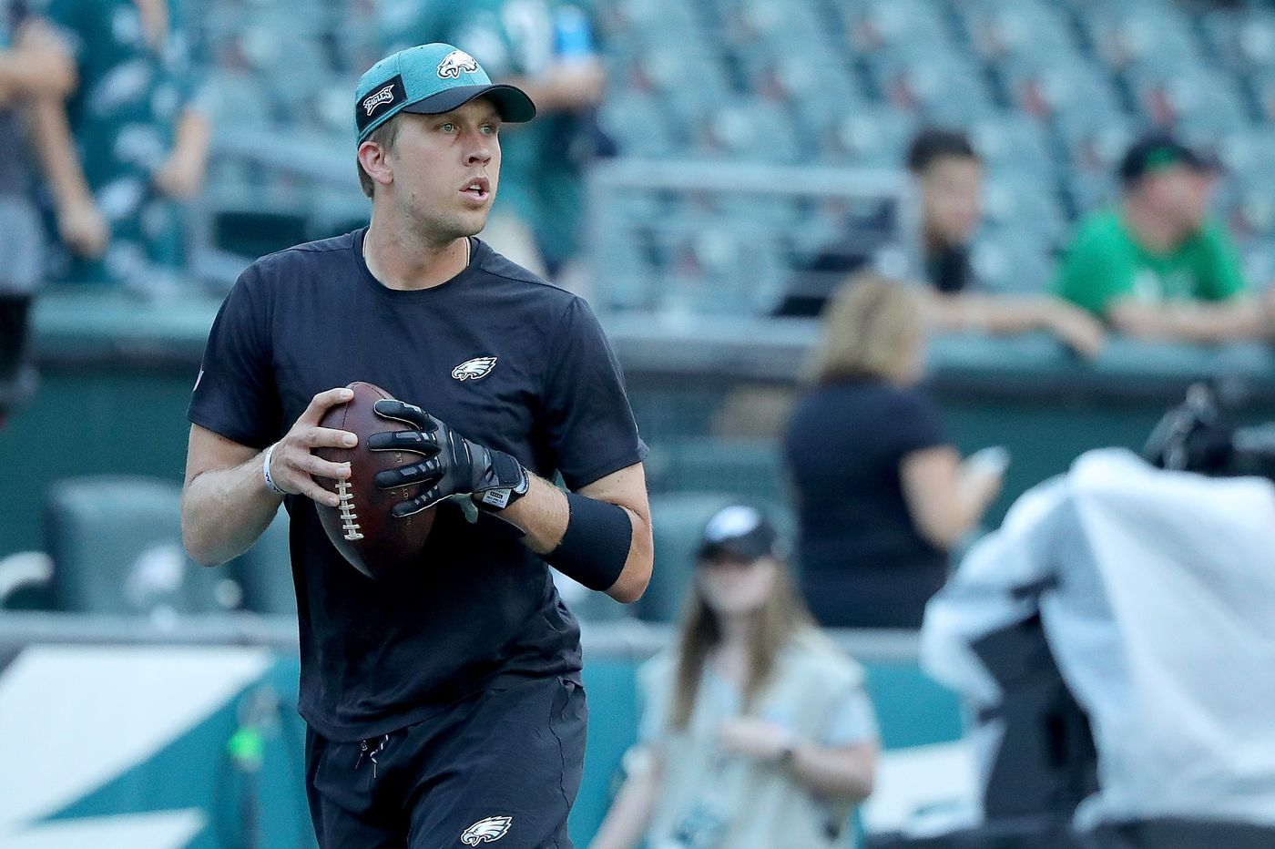 Eagles' Nick Foles prepared to take move from Super Bowl MVP to backup quarterback with grace