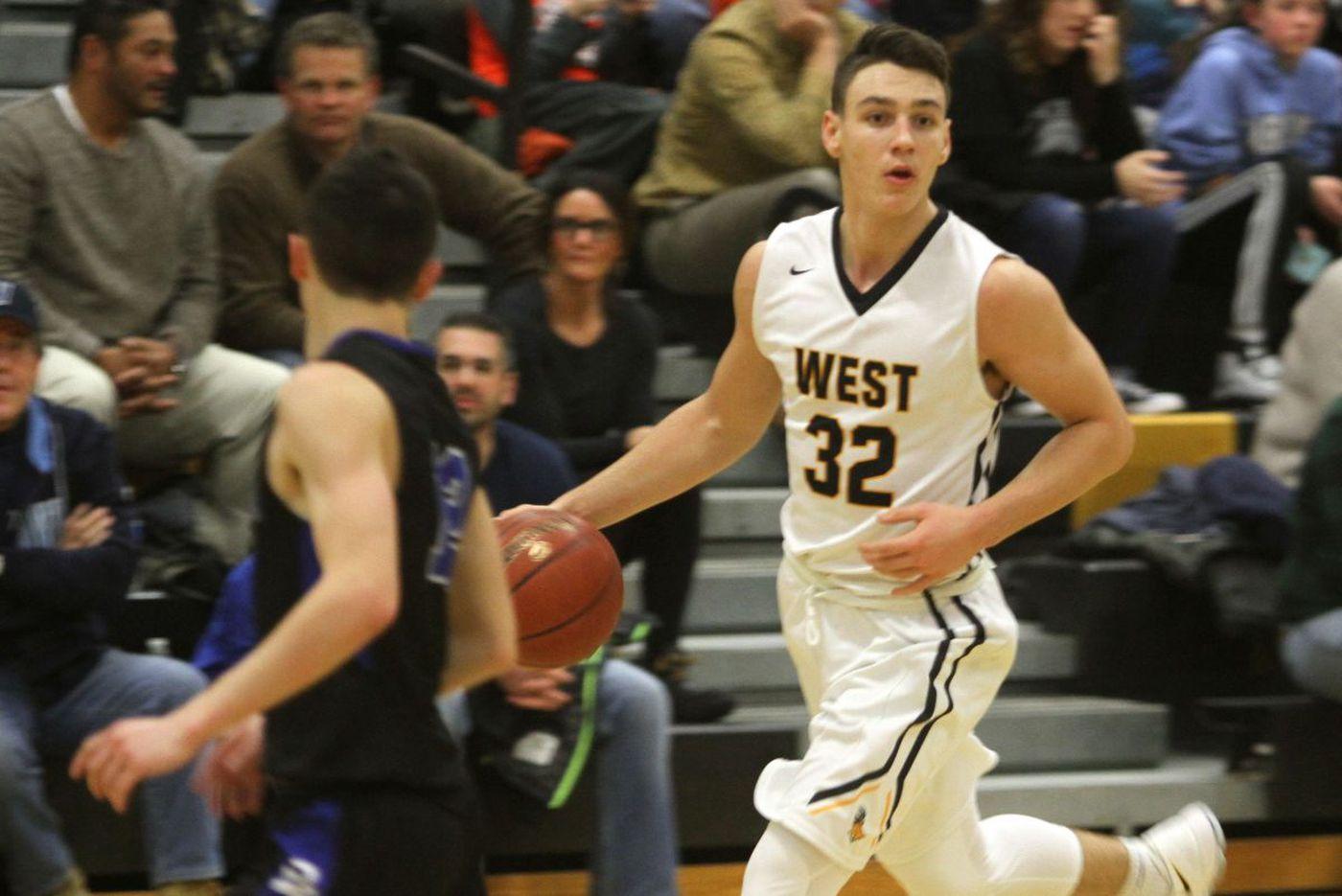 Collin MacAdams leads savvy Central Bucks West basketball trio