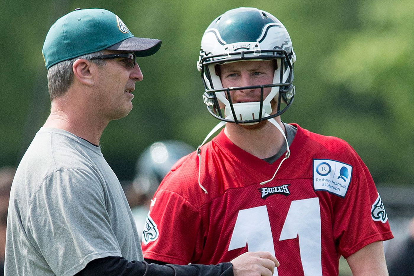 Hayes: We'll see if he's Reich about Wentz
