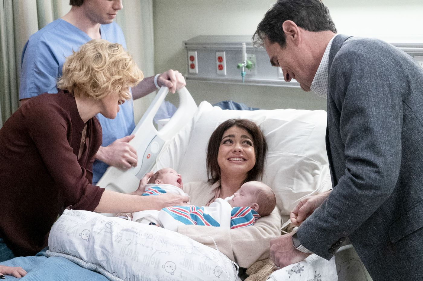 TV's 'Modern Family' misses chance to promote safe sleeping for infants