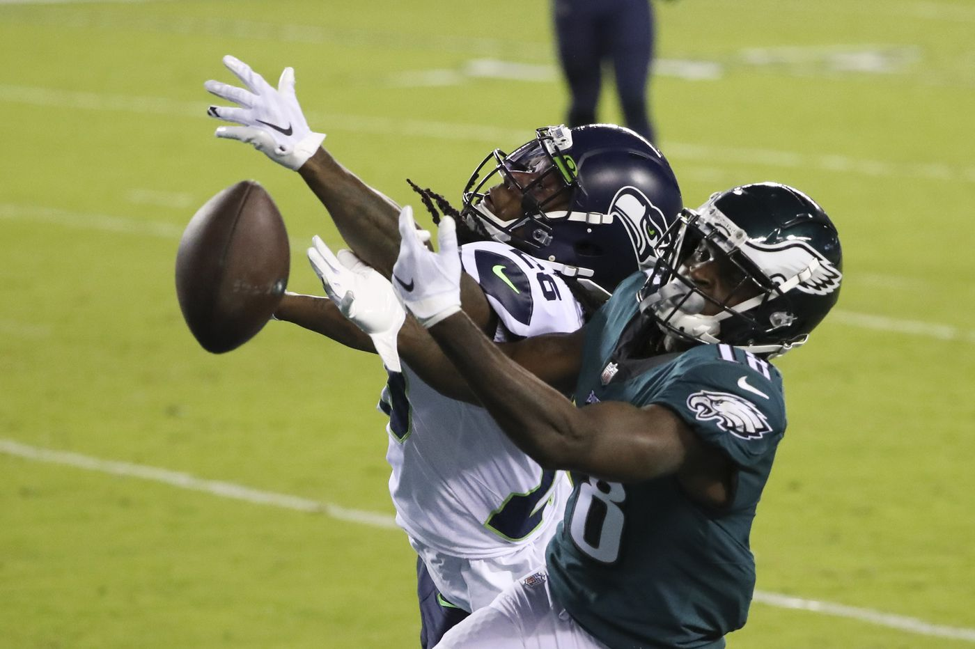 Eagles-Seahawks Up-Down Drill: Jalen Reagor still struggling downfield