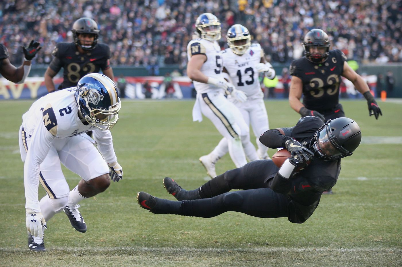 As expected, Army's run game was the difference in its win over Navy