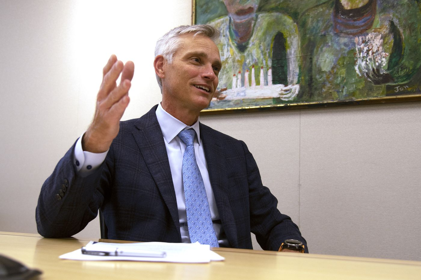 American Airlines president talks coronavirus, and making things run smoother at PHL