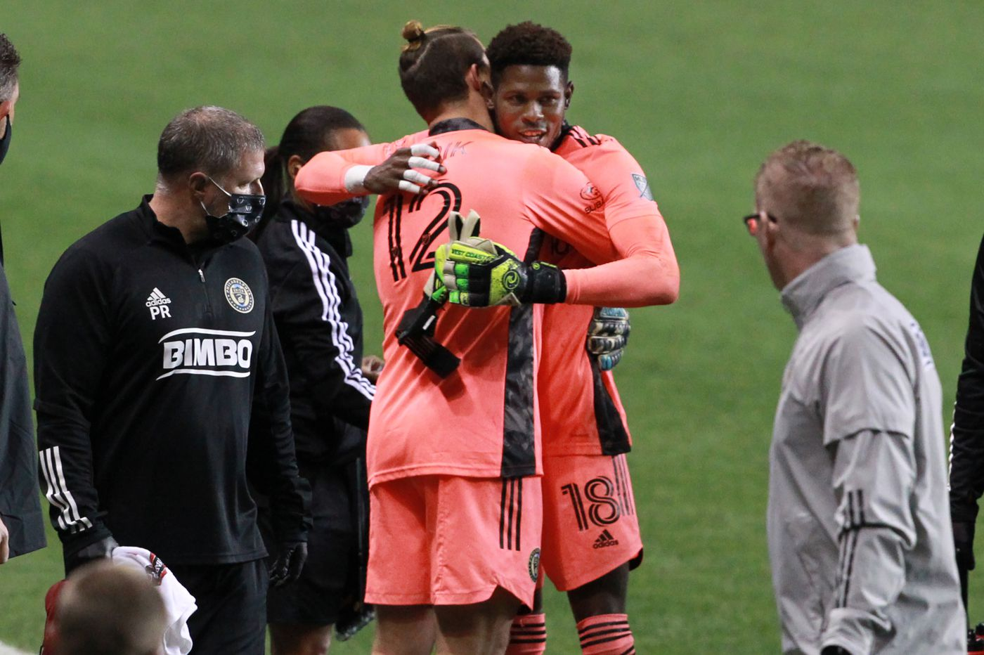 Union's Andre Blake could be out for the season with a fractured right hand