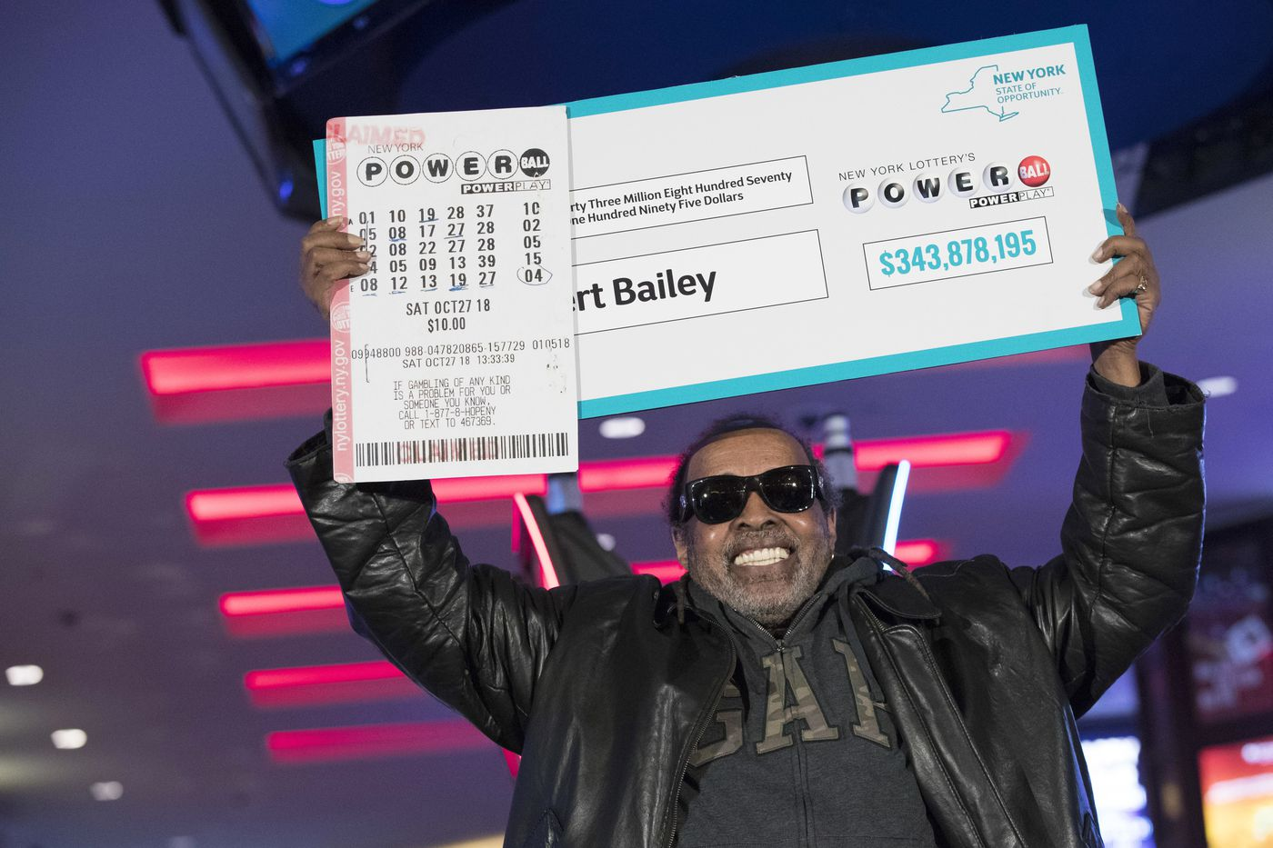 Harlem man is largest lottery jackpot victor  in NY  state history