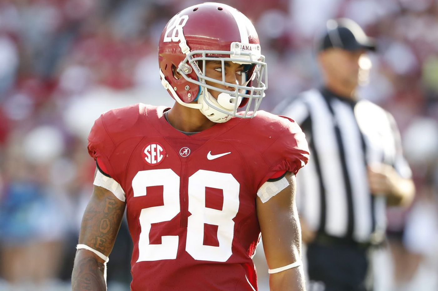 Anthony Averett, former Woodbury star, showed patience at Alabama en route to NFL draft