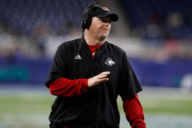 Temple picks Northern Illinois' Rod Carey to be new football coach