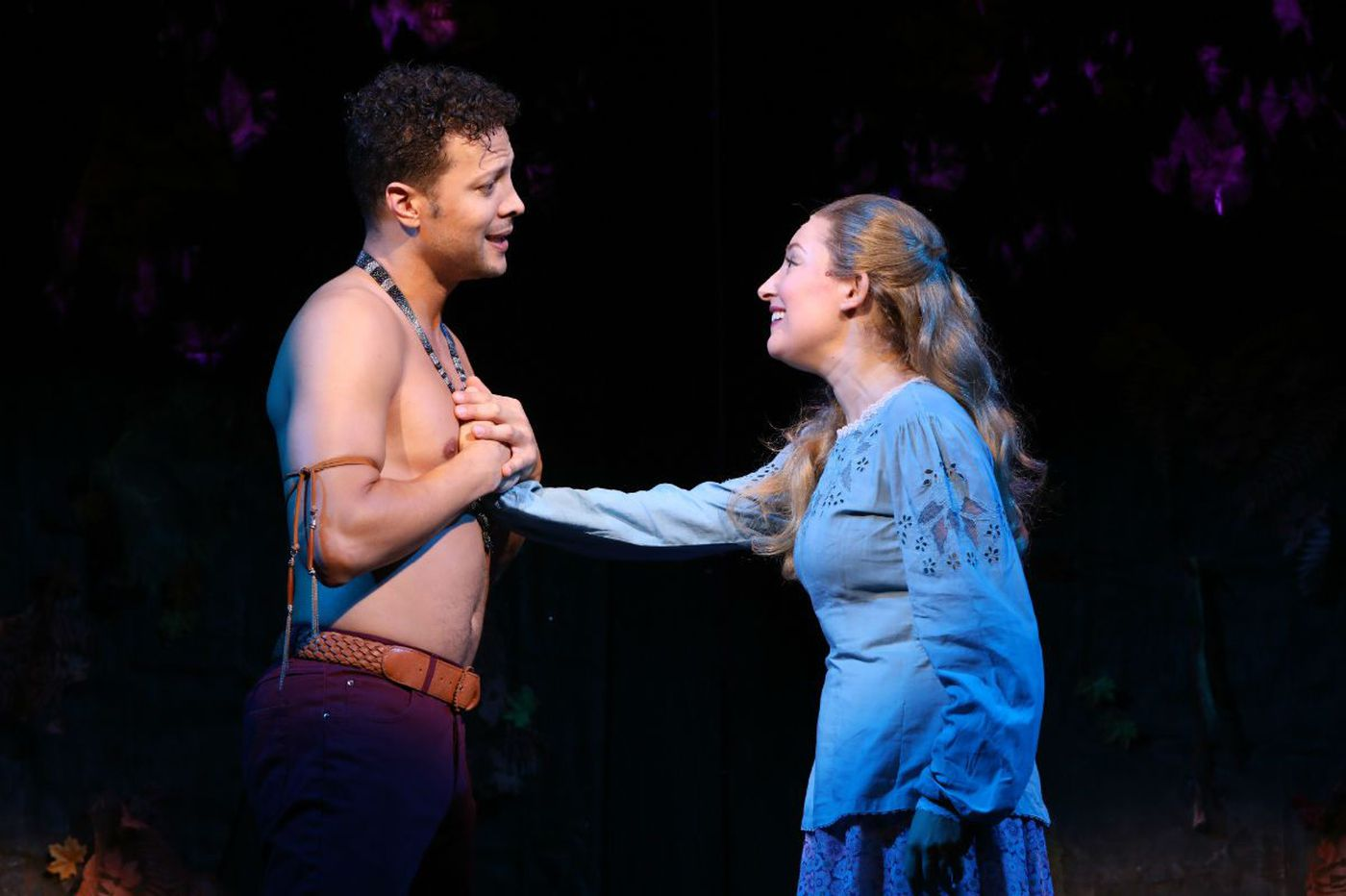 Justin Guarini to the rescue: He takes the lead in 'New World' at Bucks County Playhouse