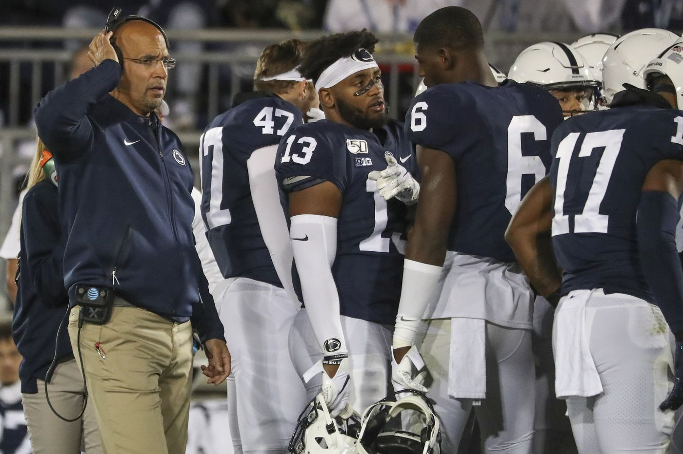 Coach James Franklin is satisfied with the Big Ten football decision, but more challenges await Penn State
