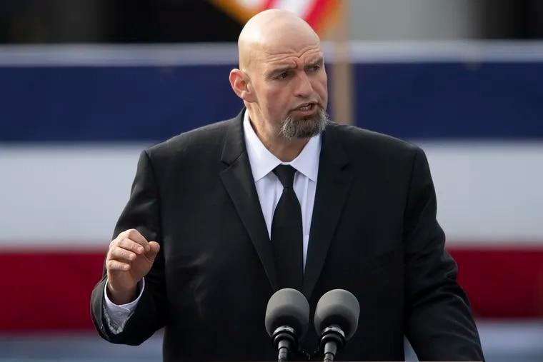 Lt. Gov. John Fetterman wants to rethink how pardons are handled in Pennsylvania.