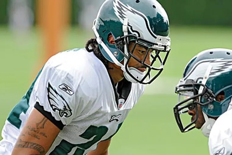 Macho Harris was one of the few quarterbacks Andy Reid has drafted as Eagles coach. (Clem Murray/Staff file photo)