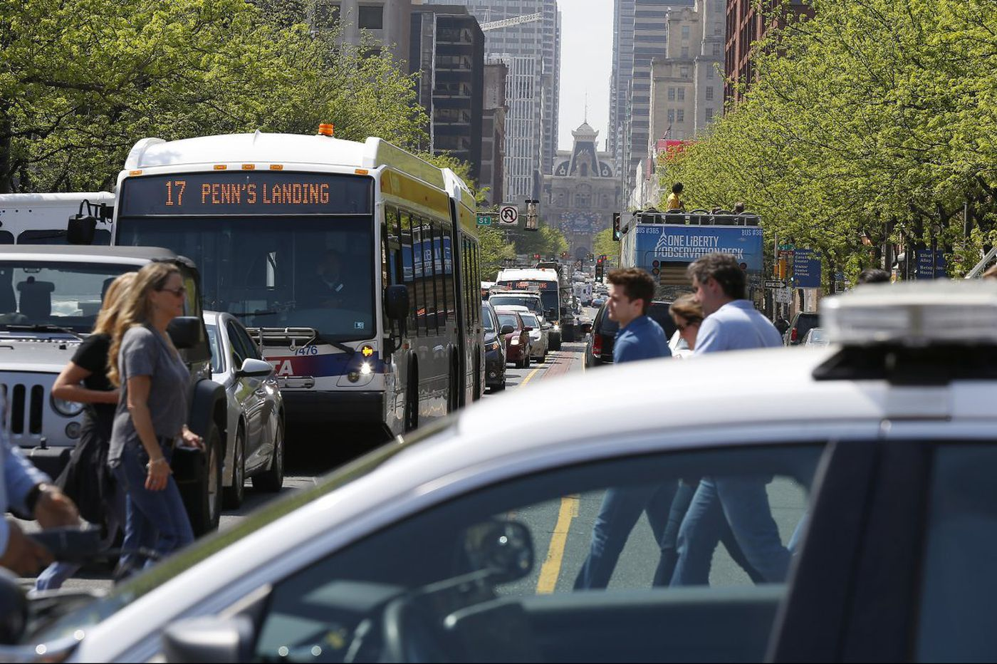 Philly needs a Heimlich maneuver for its choked streets | Editorial